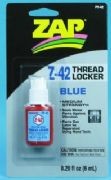 Zap PT-42 Blue Thread Lock